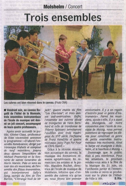 DNA 17/06/2010 Cuivres